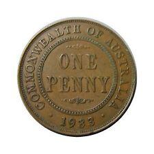 elf Australia 1 Penny 1933  George V