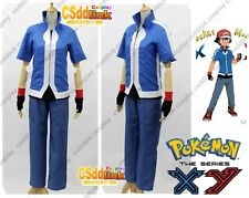 New Pokemon XY X&Y Ash Ketchum Cosplay Costume Only Jacket