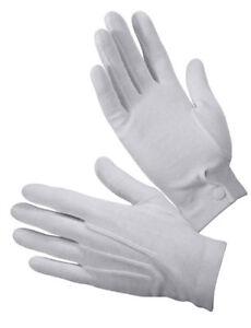 Rothco 4411 Gripper Dot White Parade Gloves - Sure Grip vs Non Dot Ones