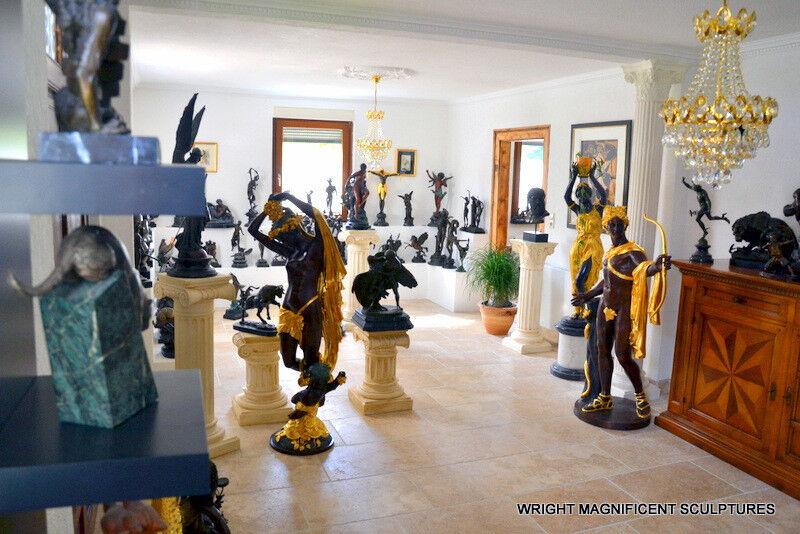 WMS-Bronze-Skulpturen