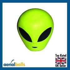 Green Alien Extra Terrestrial ET Car Aerial Ball Antenna Topper