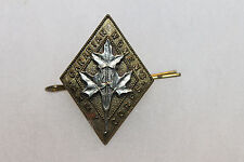 Original WW2 Royal Canadian Women's Army Hat Badge w/Pin