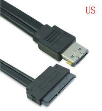 Dual Power eSATA USB 12V or 5V Combo to 22Pin SATA USB Hard Disk Adapter Cable