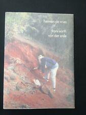 herman de vries From earth von der erde catalogue exposition 1997