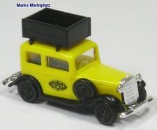 1:87 Opel P4 Opel Dachkiste gelb Brekina 1135 NEU OVP