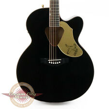 Brand New Gretsch G5022CBFE Rancher Falcon Jumbo Cutaway Acoustic Electric Black