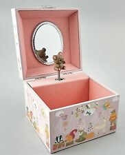 Floss & Rock Woodland Animal Children Musical Jewellery Wooden Box Girls Gift