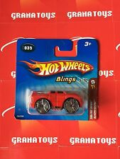 Hot Wheels 2005 First Ed. Short Card Quadra-Sound Red #035
