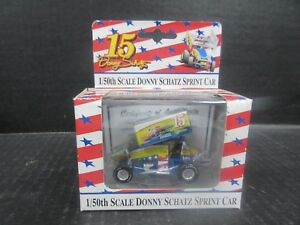 1/50th scale #15 Donny Schatz Sprint Car - Stock # 8058
