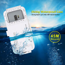 Waterproof Case Full Protective Shockproof 45m Diving Housing For Samsung S10 5