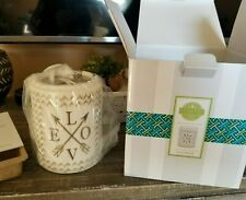 SCENTSY LOVE SWEPT Wax Fragrance Warmer-Full Size New in Box