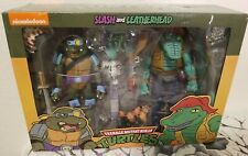 NECA TMNT  Leatherhead And Slash 2-pack Target Exclusive Brand New Sealed
