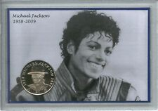 Michael Jackson The King of Pop 1958-2009 Music Memorabilia Crown Coin Gift Set