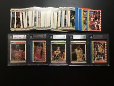 1987-88 Fleer Basketball Complete Set With Stickers Michael Jordan BGS 8.5 7 BN