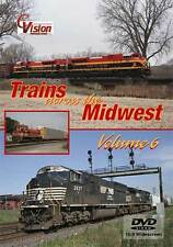 Trains Across the Midwest Volume 6 DVD NEW C-Vision NS CSX CN BNSF UP Chicago