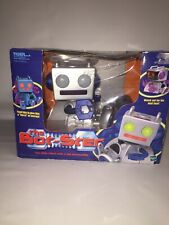 Tiger Electronics Hasbro The Bot-Ster Robot Silver Purple New - See Description