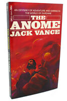 Jack Vance THE ANOME  1st Edition 1st Printing