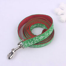 New Nylon&Polyester leash/lead for Small or Medium Christmas Series-Santa Logo