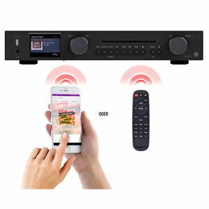VR-Radio WLAN-HiFi-Tuner mit Internetradio, CD, DAB+, UKW & Bluetooth, MP3/WMA