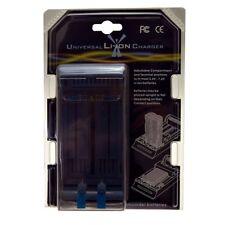 Universal Cargador De Batería Li-on para videocámara, cámaras digitales, etc.