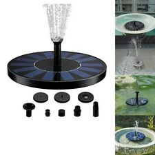 Solar-power Fountain Brushless Pump Watering Kit Set Outdoor Garden 180L/H