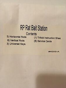 Rodent Bait Station RP Rodent Control Rat Mouse Bait Station Accessories