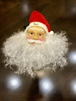 "Santa Claus Face Christmas Decoration 12"" inch Ornament"