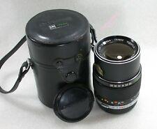 Olympus E.Zuiko Auto-T 135mm F3.5 Manual Focus Lens + Case Olympus 152823 Ref. B
