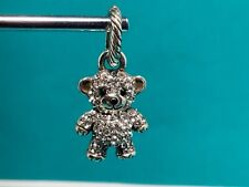 🌸Brighton ABC Swarovski Crystal Teddy Bear  Charm (C30) NWOT 🌸
