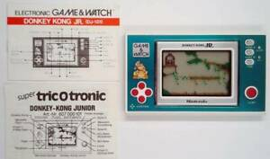 Mario's Cement Factory GAME & WATCH 1983 incl. manual - MINT / TOP - Nintendo