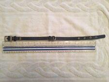 Martha Stewart Pets (S) Coated Linen Navy Blue Buckle Dog Collar, Small,  NWOT