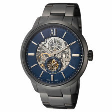 Fossil Men's Townsman ME3182 48mm Blue Dial Stainless Steel Watch