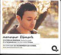 """CD DIGIPACK 13 TITRES MONSIEUR CLÉMENT """" MONSIEUR CLÉMENT"""" 2005 NEUF SCELLE"""