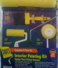 Interior Painting Kit, Foam Pro 6 Pc. Kit $24.99 w/free S&H