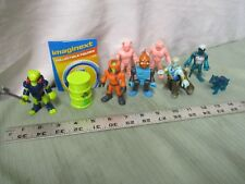 Fisher Price Imaginext series 11Complete lot of 6 figures & Accessories fun NEW