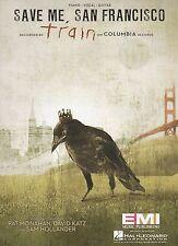 Train (Pat Monahan) Save Me, San Francisco  US Sheet Music