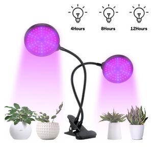 Waterproof 120W LED Grow Light Bulb Full spectrum For Veg Plant Dimmable+Timer