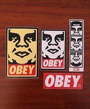 OBEY Sticker Pack - (Lot of 4) Skateboard - Art - New!
