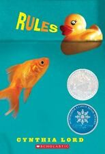 RULES by Cynthia Lord a Scholastic Book (2008, Paperback)