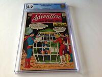 ADVENTURE COMICS 321 CGC 8.0 1ST FULL TIME TRAPPER SUPERBOY DC COMICS