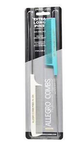 Allegro Combs XL Pintail Rat Tail Combs Parting Combs Metal Tail Foiling Combs