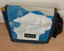 c8ada476279c2 Freitag Tasche F14 DEXTER Messenger Bag blau weiß Umhängetasche LKW-Plane  Wolken