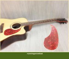 Acoustic Guitar Pickguard Scratch Plate colorful water drop Self-adhesive