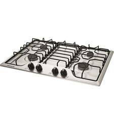 "Frigidaire 30"" Stainless Steel 4 Burner Gas Cooktop Ffgc3012Ts Brand New"