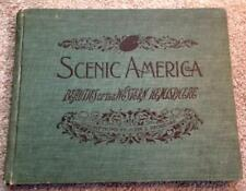 1904 ANTIQUE AMERICA PHOTO BOOK OLD WEST PIONEER TOURIST INDIANS NEW YORK