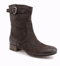 PRADA Calzature Donna Capra Antic Brown Leather Ankle Boots  EU 37.5 / US 7 $990