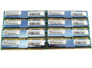 HP 32GB 8x4GB Ram MEMORY FOR HP WORKSTATION XW6400 XW6600 XW8400 XW8600 DEL1950