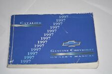 1997 CHEVROLET CAVALIER OWNERS MANUAL BOOK