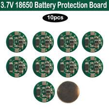 10PCS Li-ion Lithium 3.7V 18650 Battery Input Ouput Protection Board PCB