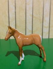 BESWICK HORSE FOAL THOROUGHBRED TYPE SMALL PALOMINO 1816  GLOSS 1st TYPE